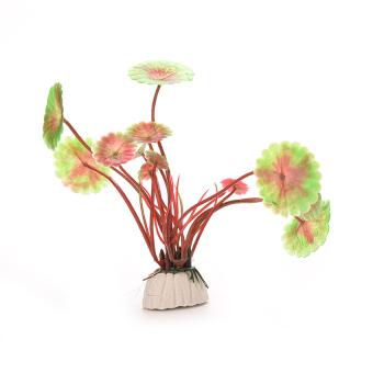 HKS Aquatic Plastic Grass Plants Aquarium Decoration Red (Intl)