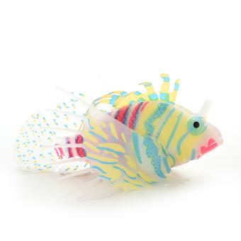 HKS Artificial Fake Plastic Fish Ornament Orange (Intl)