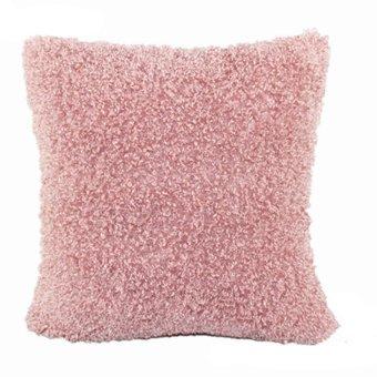 HKS Soft Sofa Square Pillow Pink (Intl)
