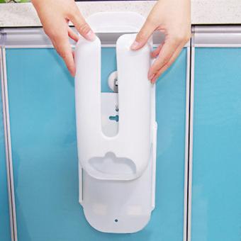 Home Kitchen Plastic Bag Holder Dispenser - intl - 3