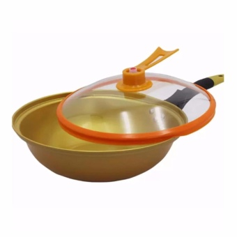 Homu Korean Golden Vacuum Skillet 32cm - 3