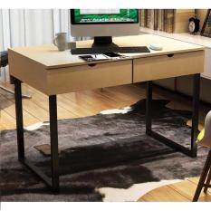wood office tables. simple office homu victor wood office table 100x56 birch with tables