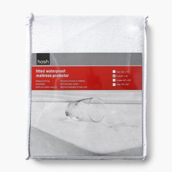 Hosh Fitted Waterproof Full-size Mattress Protector