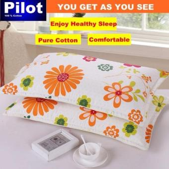 Hot Sale Pilot Bedding Pure Thick Cotton Fashion Print /ZipperDeluxe Hotel Home Resort Envelope Style Pillowcase Best Gift (Yellow Rose Lover) - 4