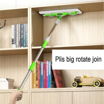 Household Cleaning Tools Floor Flat Mop (7 Mops Cloth)-Green - intl - 4