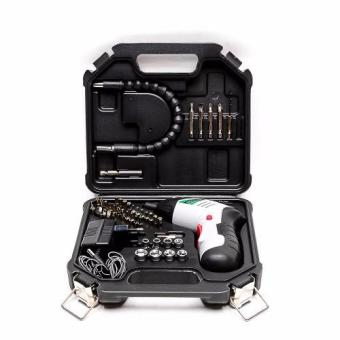 Hoyoma Japan 46 Pieces Cordless Drill Kit with Case 4.8V Industrial(Silver) Price Philippines