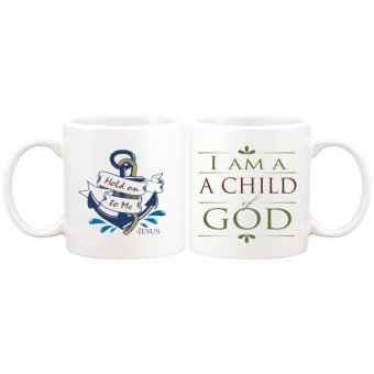 I am a child of God Statement Gift Mug (White)