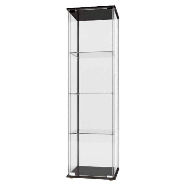 Ikea Detolf Glass Door Cabinet White Glass Designs