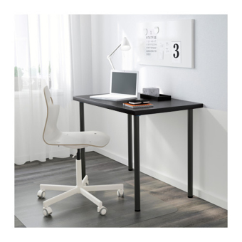 Ikea Linnmon Adils Desk 100cm (Black) - 2