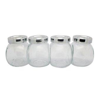 IKEA RAJTAN Spice  Jar Set of 4 (Clear)