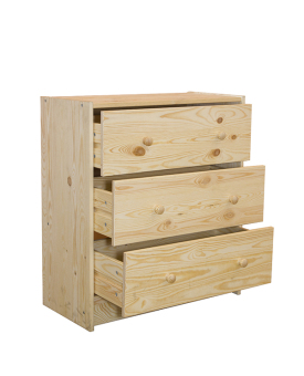 Ikea Rast Chest of 3 Drawers (Pine)