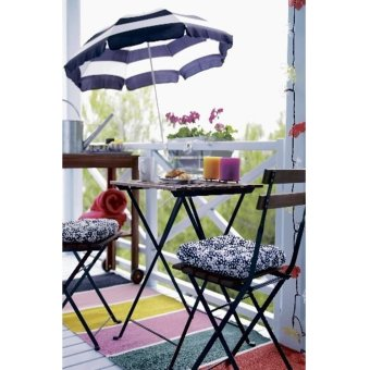 Ikea Tarno Foldable Dining Set Acacia Lazada Ph