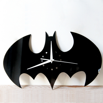 Harga New Batman Black Wall Clock wc1435