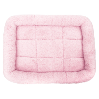 Harga Pet Bed Cushion Mat Pad Dog Cat Cage Kennel Crate Warm Cozy Soft House (Pink) (L) - intl