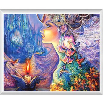 Harga DIY 5D fantasy image Diamond Cross Stitch Painting - intl