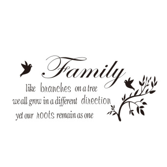 Harga Vinyl Wall Sticker Decal Mural Home Decor Art Quote Family Like Branches