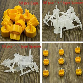 Harga 150 pcs Tile Leveling Spacer System Construction Tool Spacer Flooring Level Tool - intl