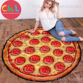 Round Beach Towel Pizza Design Price Philippines