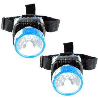 Harga NSS NS-286 LED Super Capacity Head Lamp (Blue) Set of 2