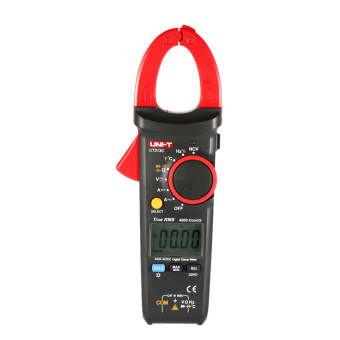 Harga UNI-T UT213C Portable Digital LCD Clamp Meter Multimeter AC/DC Voltage AC/DC Current Resistance Capacitance Diode Continuity NCV Temperature Measurement Tester with Flashlight - intl