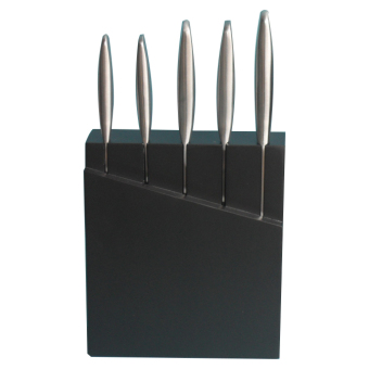 Rossetti 9500 5-pc Knives Set in Wooden Knife Holder (Stainless) Price Philippines