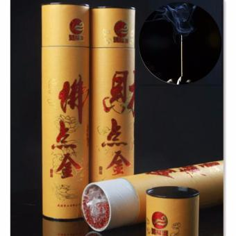 Harga Fengsheng Incense Sticks Pack of 240-260 Sticks Sandalwood Chinese Oriental Buddhist Aromatic Incense 32.5cm With Round Cask - intl
