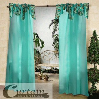 Harga Curtain Essentials Orion Pale Green Single Panel