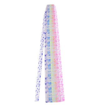 Harga 210 Pcs/Set Stars Folding Paper Present Strips DIY Luminous Lucky Origami Stars Tower - intl