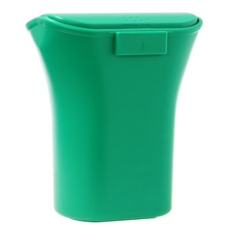 Harga Hanyu Car Dustbin Trash Can Garbage Bins Storage Box Green