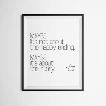 Harga Quote Wall Art Print Poster, Wall Pictures For Home Decoration, Frame Not Include Canvas Art FA358