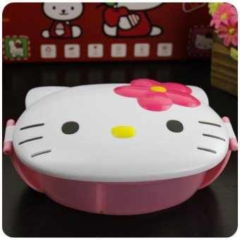 Monolayer Bento Box Microwaveable Students Plastic Lunch Box school Children Cartoon Kids Lunch Box - intl Price Philippines