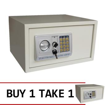 iSAFE iSF-23BEI Safe Electronic Digital Safety Vault (Beige) BUY 1 TAKE 1 Price Philippines