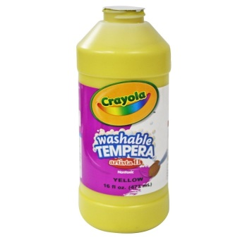 Harga Crayola Washable Tempera (Yellow)