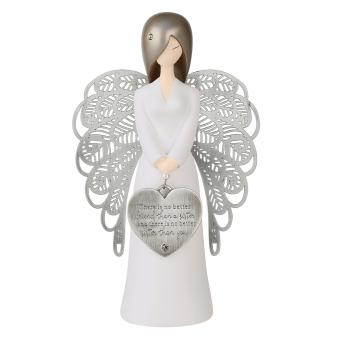 Harga 'You are An Angel' 155mm Angel Figurine Silver Wings