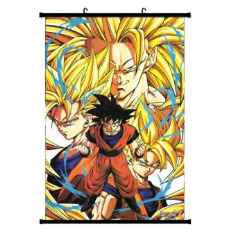 Harga Japanese Anime Dragon Ball Poster Wall Scroll Poster Children's Rooms Wall Sticker Home Decoration - intl