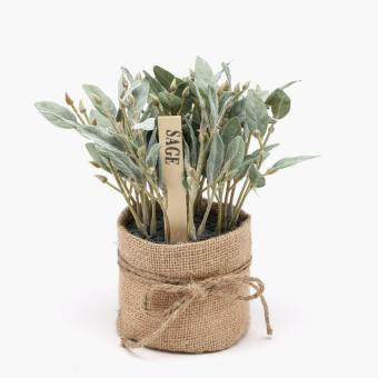 Harga SM Home Sage Artificial Plant