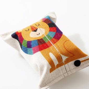 Harga Tissue Holder Animal Design (Lion)