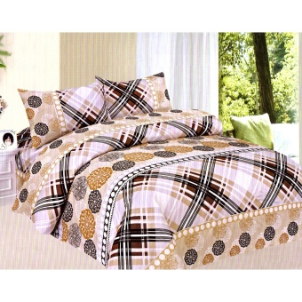 Harga 4-Piece Queen Size Bedding with Luxury Cotton Feel- Monte Carlo Series by Manhattan Homemaker