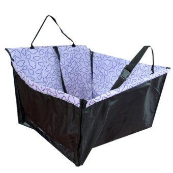 Car Back Seat Dog Carrier Mat (Violet) Price Philippines