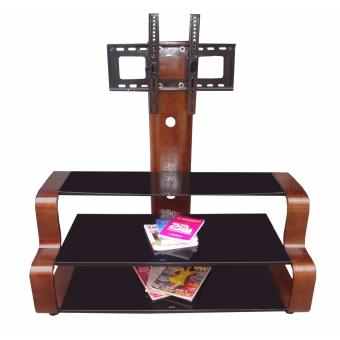 Harga Hapihomes Osmond Entertainment Mounting TV Stand (Glass)