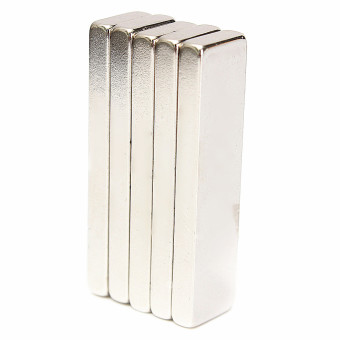Autoleader 5Pcs Big Strong Block Bar Fridge Magnets 40x10x4mm Rare Earth Neodymium N52 Price Philippines