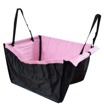 Car Back Seat Dog Carrier Mat (Pink) Price Philippines