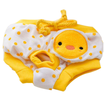 Pet Dog Puppy Diaper Pants Physiological Sanitary Short Panty Nappy Underwear Yellow S Price Philippines