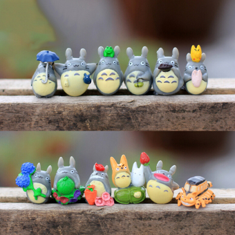 12pcs/Set My Neighbor Totoro Mini Figure DIY Moss Micro Landscape Gift Toys Multi Price Philippines