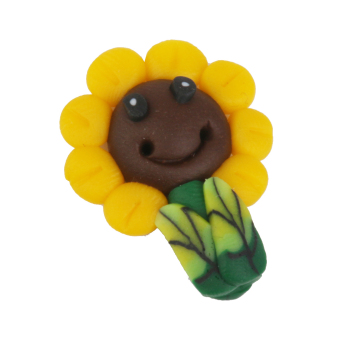 Mini Resin Sunflower Moss Landscape Ornaments Accessories Garden Decor (Yellow) Price Philippines