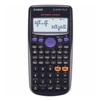 Harga Casio FX-350ES PLUS Display Scientific Calculations Calculator with 252 Functions FX-350ESPLUS