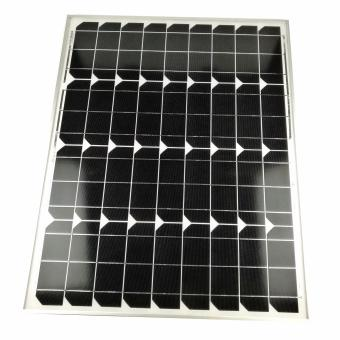 Harga 50Watts 18V 2750mA Mono Crystalline Solar Modules for Solar Fan