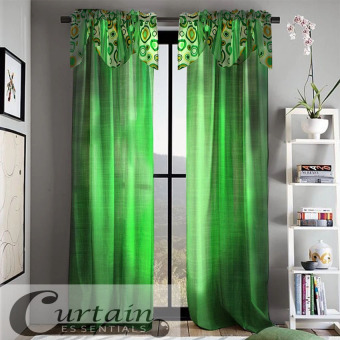 Harga Curtain Essentials Orion Chartreuse Curtain (Green) Single Panel