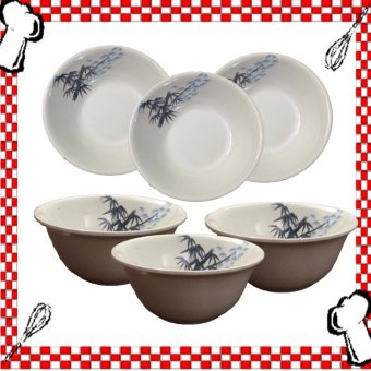 HM Design Asian Simple Soup Bowl Set of 6's Price Philippines