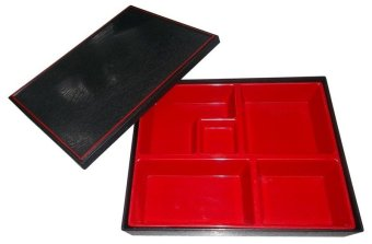 Nippon Ware 8105 Bento Box with Box Set (Red) Price Philippines